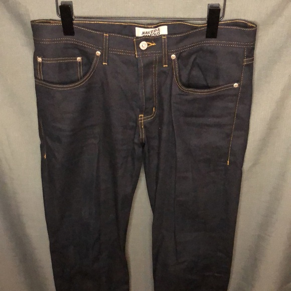 Naked & Famous Denim Weird Guy Jeans, size 32x32